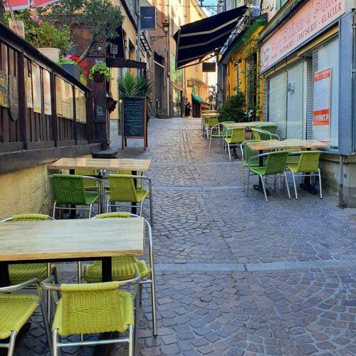 Location gite spacieux Ax Les Thermes - Rue piétonne