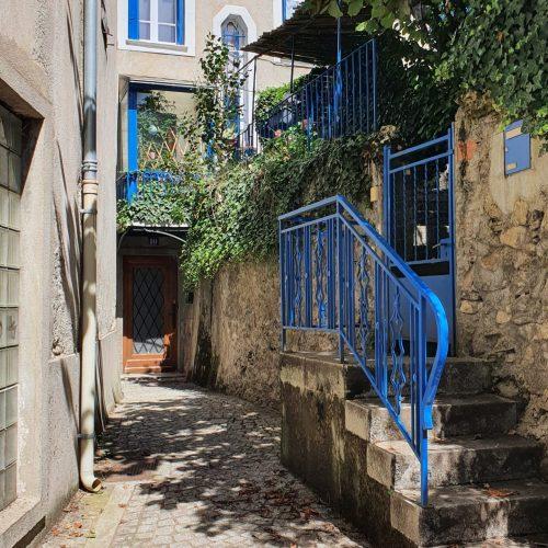 Location gite spacieux Ax Les Thermes - Escalier