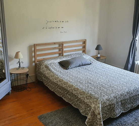 Location Ax-Les-Thermes - Chambre 1